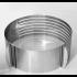 Раздвижное кольцо форма для нарезки коржей 16-20 см
