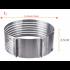 Раздвижное кольцо форма для нарезки коржей 24-30 см