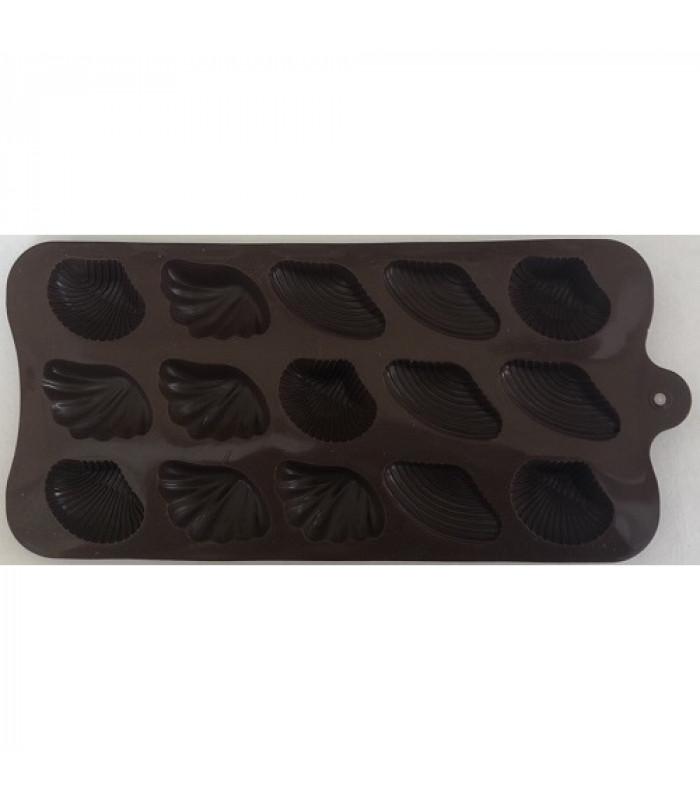 """Форма для льда и конфет """"Ракушки -2"""" из 15 шт"""