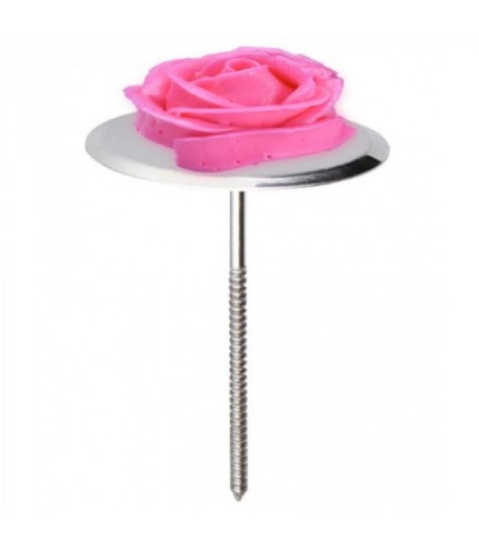 Подставка - гвоздь для изготовления кремовых цветов (диаметр 5 см)