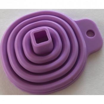 Лейка - воронка силиконовая раскладная