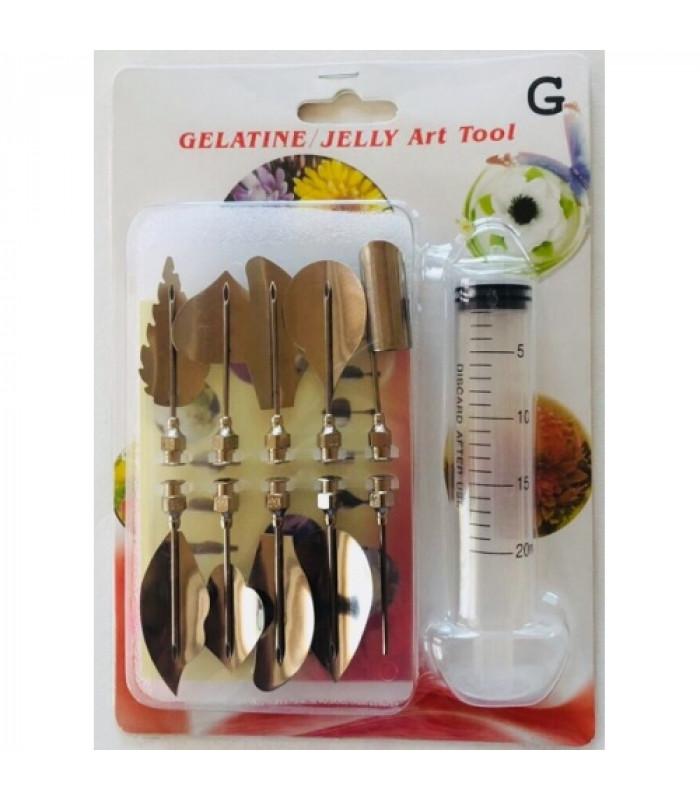 Инструменты для приготовления желе с 3D цветами №2
