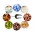 Совок мерный из нержавеющей стали 0,2 кг. (22 см)