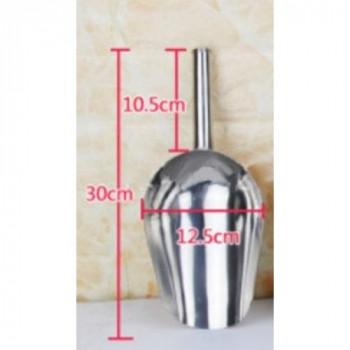 Совок мерный из нержавеющей стали 0,75 кг (30см)