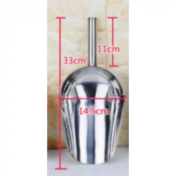 Совок мерный из нержавеющей стали 1кг (33см)