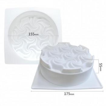 Силиконовая форма для евродесертов Свадьба 15,5 см