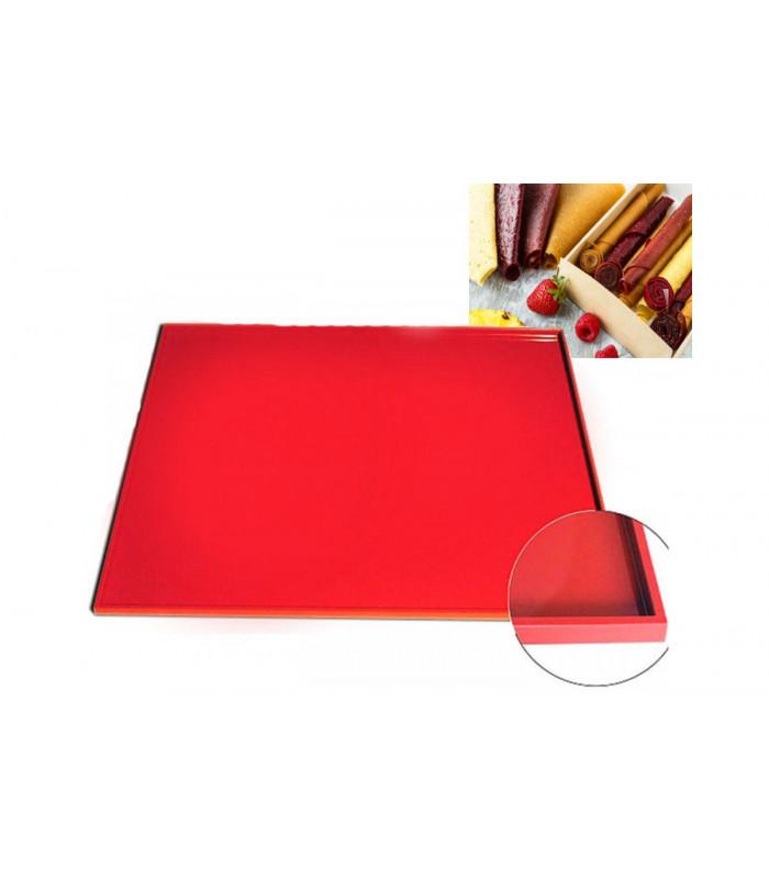 Силиконовый коврик противень для выпечки с бортиком 310х260х9 мм