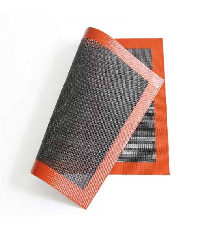 Перфорированный силиконовый коврик для выпекания 57х37 см