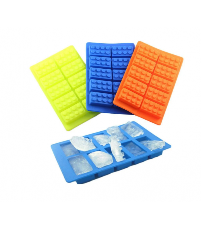Силиконовая форма кубики LEGO 1