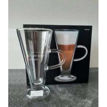 Набор чашек Ardesto 230 мл (2 шт) с двойными стенками для латте AR2623GH