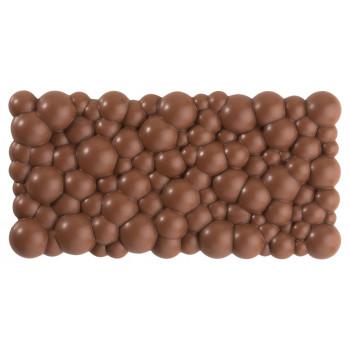 Поликарбонатная форма плитка шоколада Пузыри
