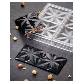 Поликарбонатная форма плитка шоколада Эдельвейс