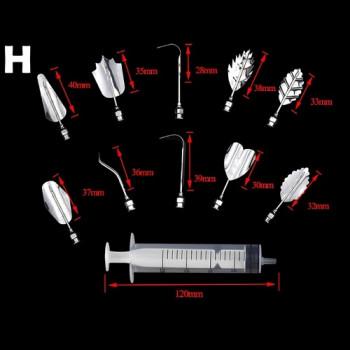 Инструменты для приготовления желе с 3D цветами H