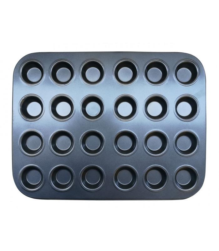 Форма для выпечки кексов (капкейков,маффинов) на 24 ячеек