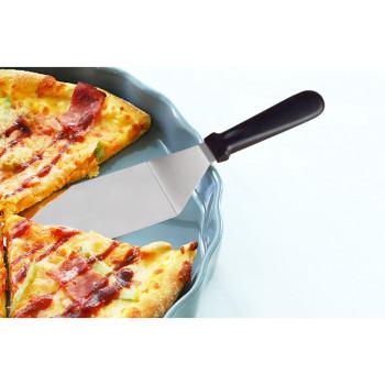 Шпатель лопатка изогнутая для пиццы 37 см широкий (7,5 см)