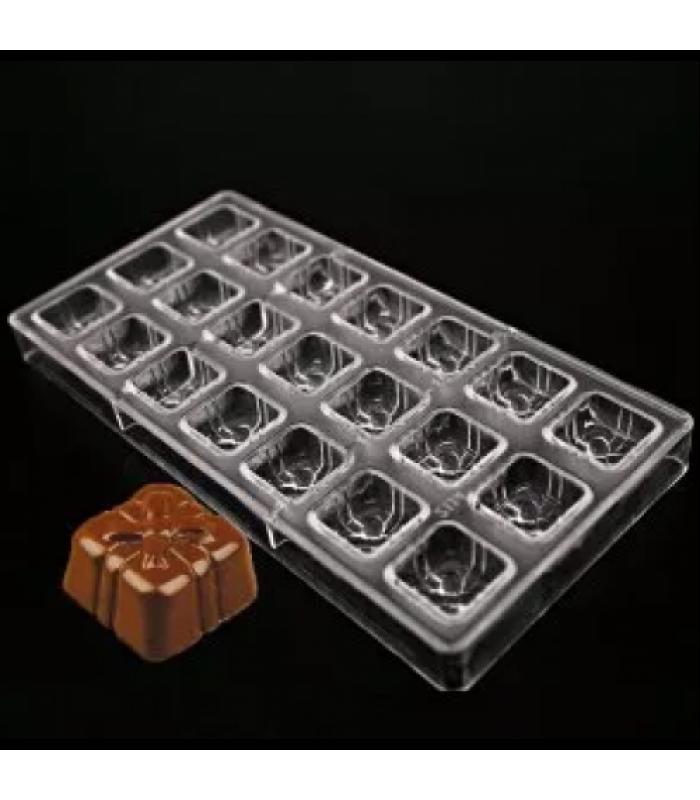 """Поликарбонатная форма для конфет, шоколада """"Подарок"""""""