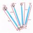 Набор шаровидных стеков для лепки и моделирования  (4 шт)