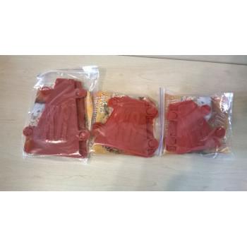 Пластиковая форма для приготовления творожной пасхи (пасочница) паски /кулича 0,35 кг