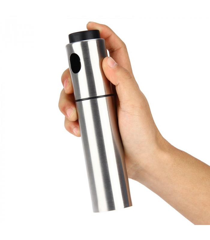 Распылитель диспенсер для масла и уксуса 100 мл металл