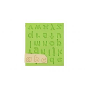 Молд силиконовый Английский алфавит печатная малая