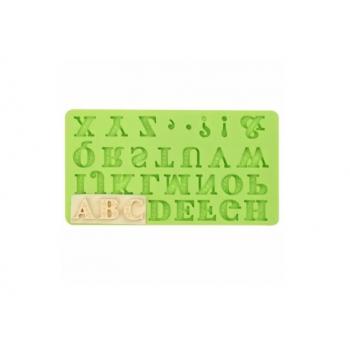Молд силиконовый Английский алфавит с засечками