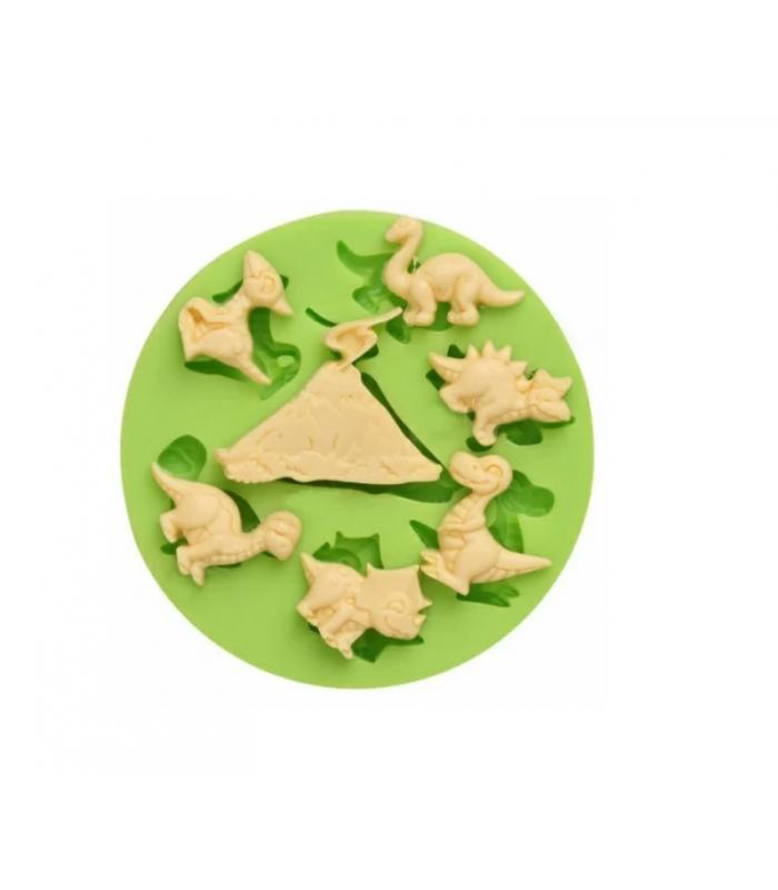 Молд силиконовый Динозавры