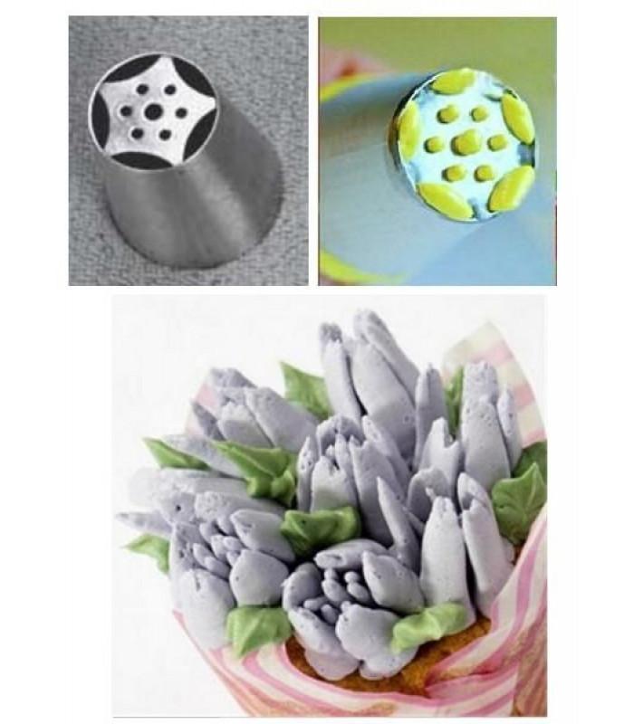 Кондитерские насадки «Тюльпан»,«Роза» №6