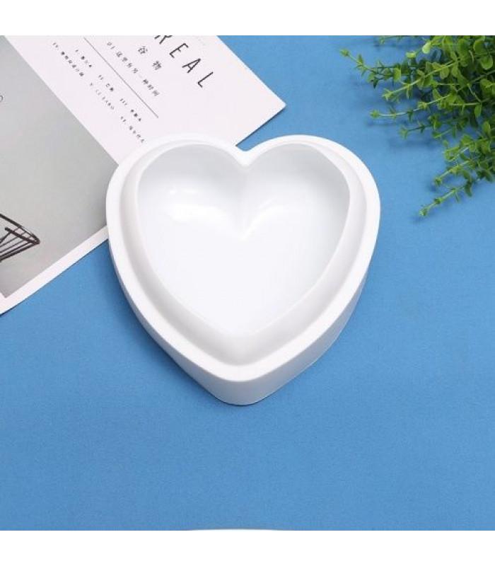 """Силиконовая форма для выпечки """"Сердце"""" (20*17,5*6,5 см)"""