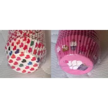Тарталетки (капсулы) бумажные формы для кексов,капкейков (100 шт)