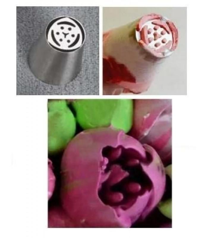 Кондитерские насадки «Тюльпан»,«Роза» №2