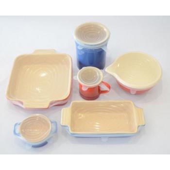 Универсальные силиконовые крышки для посуды 6 штук