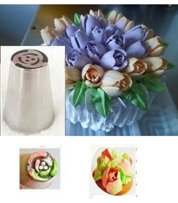 Кондитерские насадки «Тюльпан»,«Роза» №10